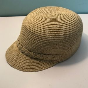 NINE WEST Straw Cap